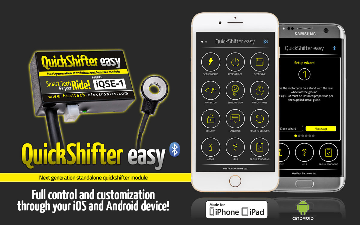 QuickShifter easy IQSE-1 квикшифтер Healtech