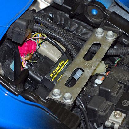 FI Tuner Pro корректор топливных карт на мотоцикле GSX-R 1000