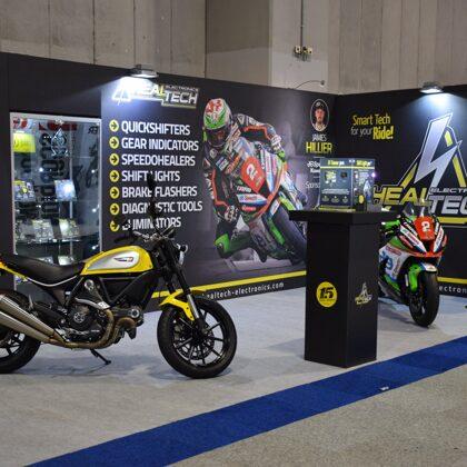 Выставка, тюнинг для мотоциклов Healtech